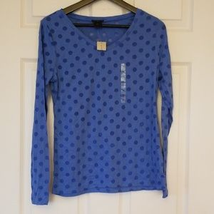 NWT Ann Taylor long sleeve t shirt